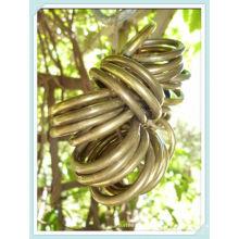 Anéis de cortina 35mm bronze cetim