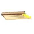 Criança feita sob encomenda e escova de dentes de bambu biodegradável de Moso do adulto