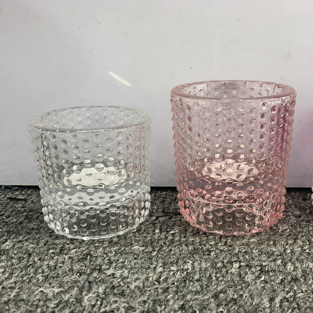 Handmade Glass Tealight Holder Votive Holder For