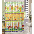 100% Polyester Printing Shower Curtain