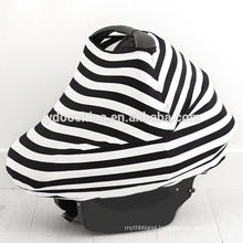 Mulit-use unsex baby car seat cover nursing cover