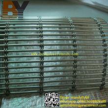 Malla de alambre decorativo de acero inoxidable / malla de alambre arquitectónica