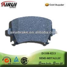 D1108 semi-metálico freio pad para Audi A6L R
