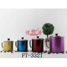 Stainless Steel Colorful Water Mug (FT-3321)