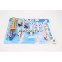 Promocional Toy Vehicle Airport Cars Motocicleta Avião Modelo Airplane Play Set
