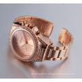 Beautiful and Smart Alloy Bracelet Watch with Quartz Movement