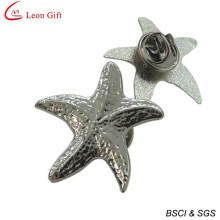 Hot Sale Metal 3D Starfish Personalized Pins (LM1747)