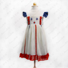Smocked children clothing wholesale toddler dress