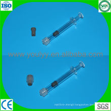 Glass Prefilled Syringe with Luer Lock