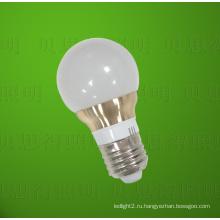 Литой алюминий Золотой светодиодный свет лампы 5W