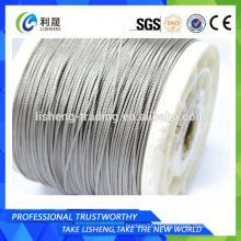 Ss 316l 1x19 Stainless Steel Wire Rope For Industrial
