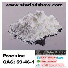 Base pharmaceutique de Procaine de Materialcas 59-46-1 de Procaine pour l'anesthésique anti-Paining