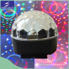 6 * 1W светодиодный кристалл волшебный шарик свет