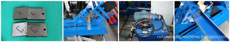 Automatic Cutting System keel roll forming  machine
