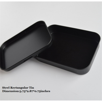 Partihandel Black Small Metal Cigarette Tin Box
