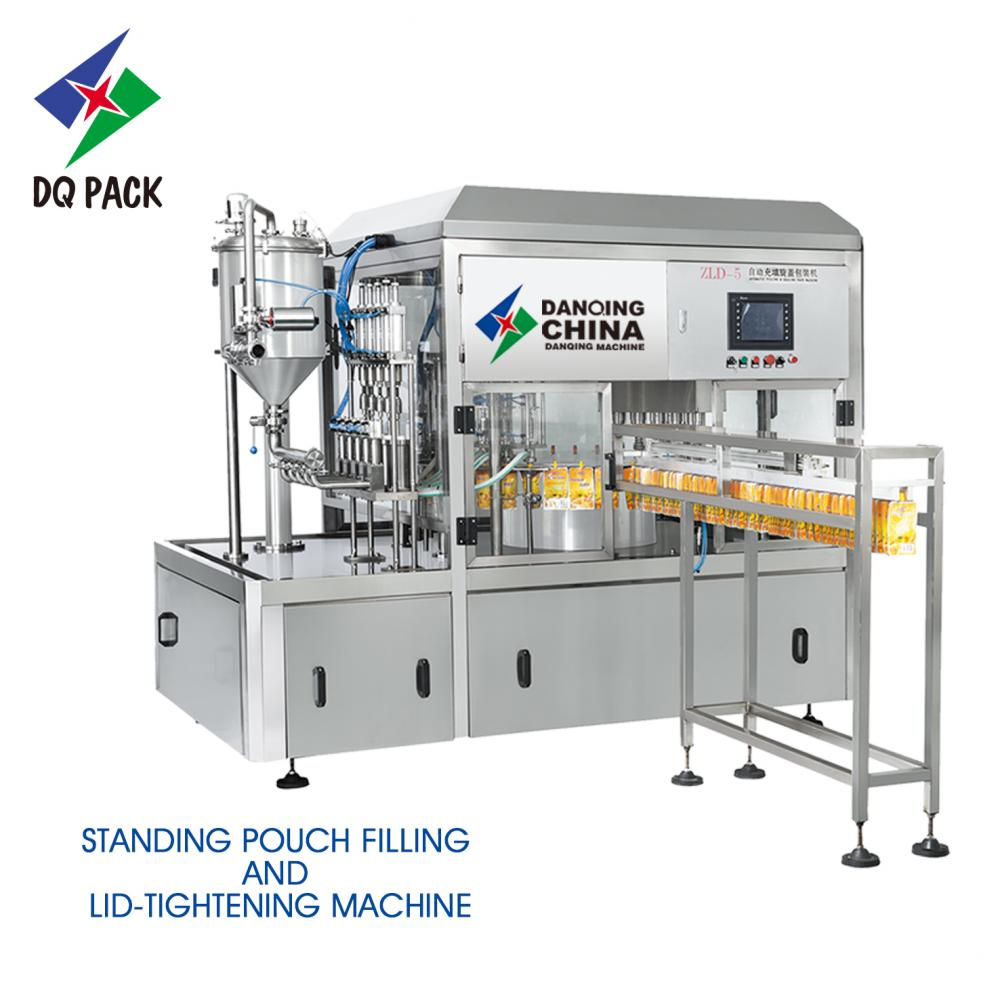 Dq 5 Filling Capping Machine