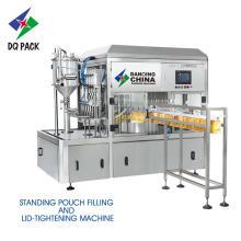 Máquina de enchimento de stand up pouch para suco líquido