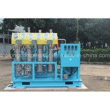Compresor de argón de oxígeno totalmente libre de aceite