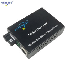 20~80km single mode WDM optical fiber media converters