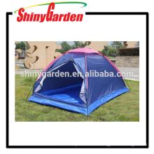 einzelnes billiges und tragbares Campingzelt mit Mesh