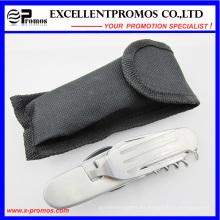 Cuchillo de supervivencia al aire libre de la herramienta de múltiples funciones del cuchillo de la cuchara del tamaño grande (EP-TS8130)