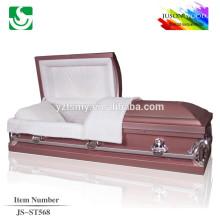 JS-ST568 American Style 20 Gage metal caskets