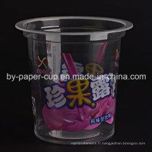 Coupe en plastique personnalisée en couleur