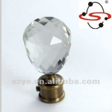 Dragon Mart Dubai Crystal Crystal Cortina Rod finials