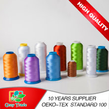 108d/2 120d/2 Polyester Embroidery Thread for Embroidery Machine, Industrial Smooth Thread Good Quality