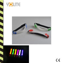 Wasserdichte LED blinkende reflektierende Sport-Nachtlaufarmband
