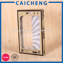 Paper box mobile cell phone case cover packing box