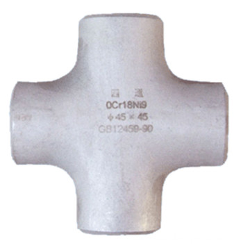 Asme B16.9 Stainless Steel Four-Way Cross Pipe Fitting
