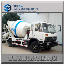 190HP Rhd Dongfeng 6 Cubic 4X2 Caminhão de misturador de concreto