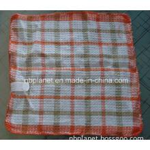 30cm Square Grid Cotton Kitchen Towels