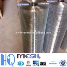 2015 materiais de construção galvanizado soldado malha de arame