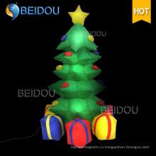 Оптовая Рождественская елка Освещение Гигантская Надувная Рождественская елка