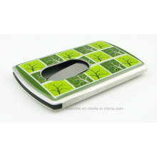 Soft Enamel Hand Push Type Business Card Holder