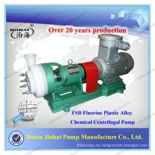 Bomba FSB para sustancias químicas / bomba de ácido clorhídrico / bomba eléctrica de transferencia de líquidos FSB Fluorine plastic alloy Chemical Bomba centrífuga