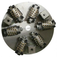 bush hammer plates& drum grinders