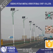 Leading for Steel Light Pole FU-TAO Galvanized Solar Steel Light  Pole supply to Cuba Factory