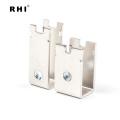 Fabricante profissional barra de tancagem estanhado personalizada do tanoeiro / conector de cobre dado forma