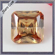 Октагон квадрат принцесса Cut кубического циркония