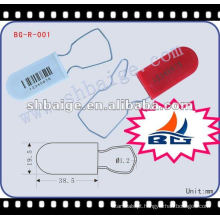 Selo de cadeado BG-R-001 para uso de segurança Selo de cadeado, selo de marca