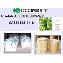 Fongicide efficace de haute qualité, Phosphethyl Al 95% TC, 80% WP, Phosphethyl Al 95% TC, 80% WP