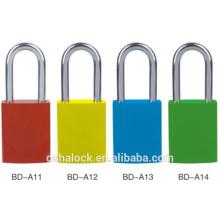 Porte-clés en aluminium à haute visibilité Key Manager de KD, verrouillage de sécurité Brady BD-A11