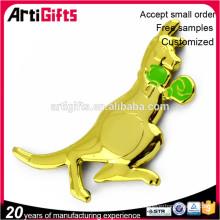 Emblemas del coche animal de metal personalizado barato
