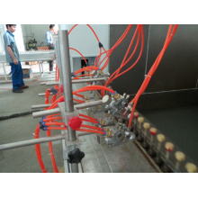 Conveyor chain for spray painting coating line