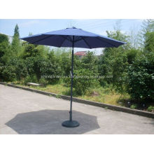 Sombrilla de metal voladizo de patio al aire libre