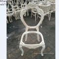 Мебель каркасная резьба по дереву Кресло Каркасная мебель незаконченная деревянная рама стула деревянная обеденный стул с французским стилем