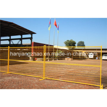 Usine de la clôture temporaire de Canada China Factory
